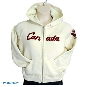 Roots Hoodie Sweater Canada Limited Rare O…